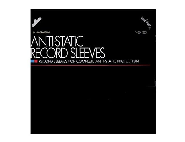 Nagaoka Anti-Static record sleeves