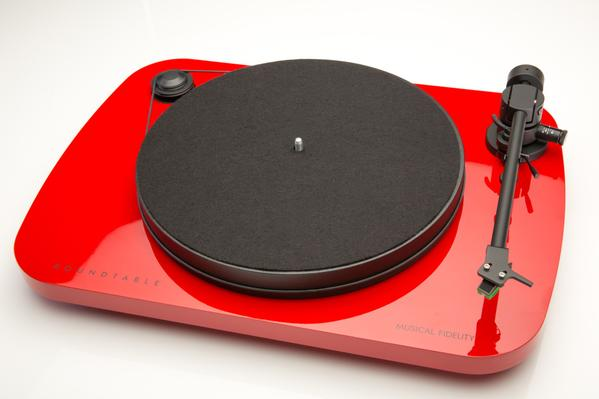 Musical Fidelity record player.