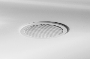 In-ceiling loudspeakers are perfect for secondary locations but not the best solution to the main listening area.
