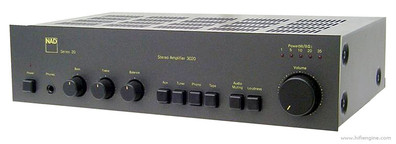 The NAD 3020 amp is something of an affordable legend